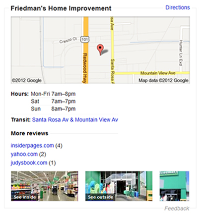 friedmans google trusted