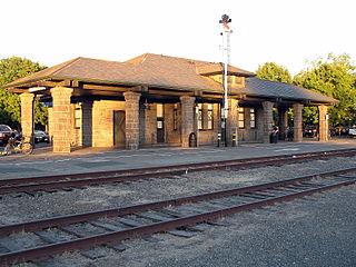 Santa Rosa Depot, Railroad Square District