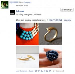 FB Sponsored Story
