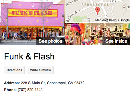 Funk and Flash | Google 3D Tour Sebastopol