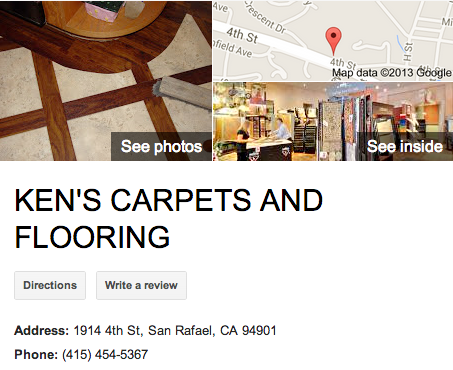 Ken's Carpets | Google 3D Tour San Rafael