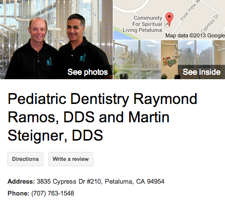 Pediatric Dentistry Raymond Ramos, DDS and Martin Steigner, DDS
