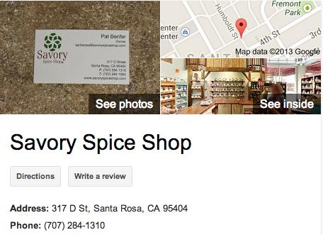 Savory Spice Shop | Google 3D Tour Santa Rosa