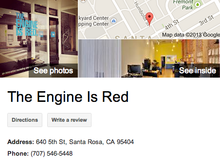 The Engine is Red | Google 3D Tour Santa Rosa