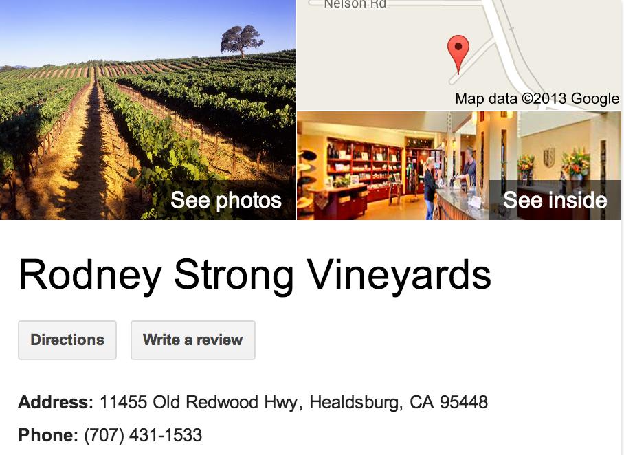 Rodney Strong Vineyards   Google 3D Tour Healdsburg