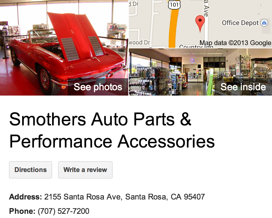 Smothers Auto Parts & Performance Accessories | Google 3D Tour Santa Rosa
