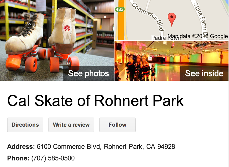 Google Business Photo Tour for Roller Skating Rink See Inside!