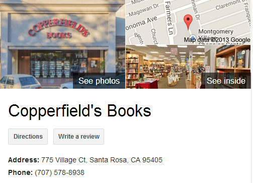Google Business View for a Book Store. Look Inside!