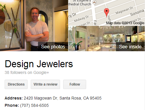 Google Business View for a Jewelry Store. Look Inside!