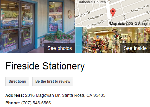 Google Business View for a Stationary Store. Look Inside!