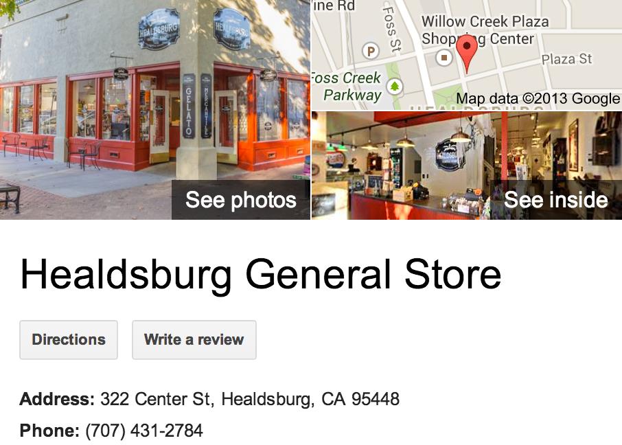 Healdsburg General Store