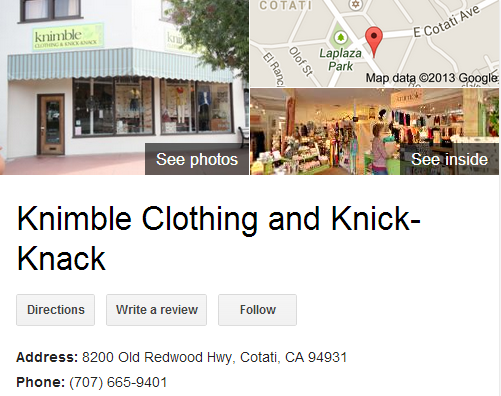 Google Business View for a Clothing Store. Look Inside!