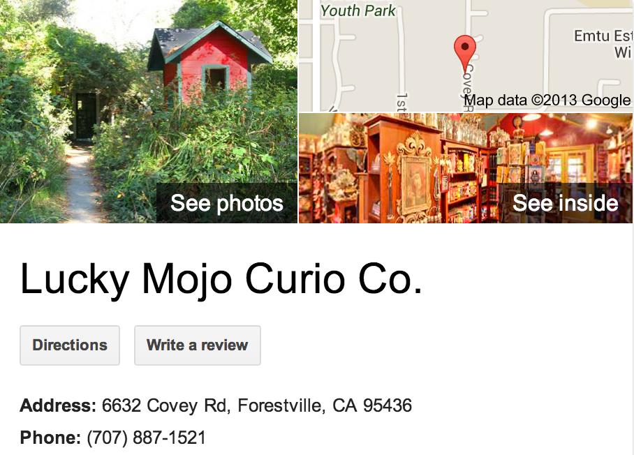 Lucky Mojo Curio