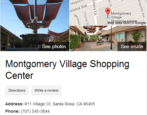 Google Business View for a Shopping Center. Look Inside!