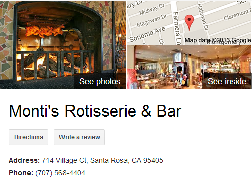 Google Business View for a Mediterranean Restaurant. Look Inside!