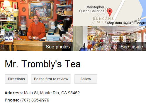 Google Business View for a Tea Store. Look Inside!