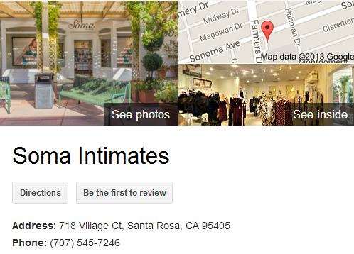 Google Business View for a Lingerie Store. Look Inside!