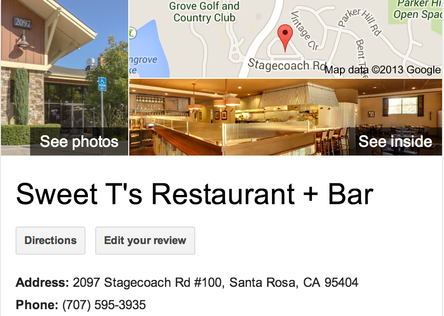 Google Business View for American Restaurant . Look Inside!