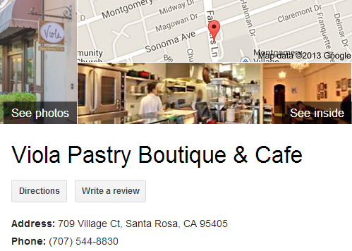 Google Business View for a Bakery. Look Inside!