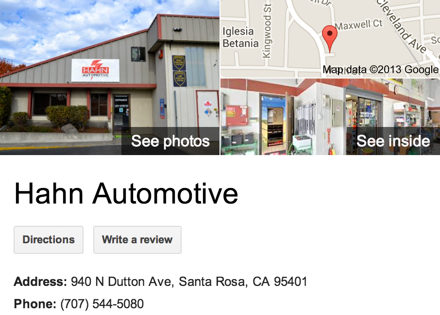 Google Trusted Agency Zenergy Works captured the best of Hahn Automotive with this Google 360 Tour.