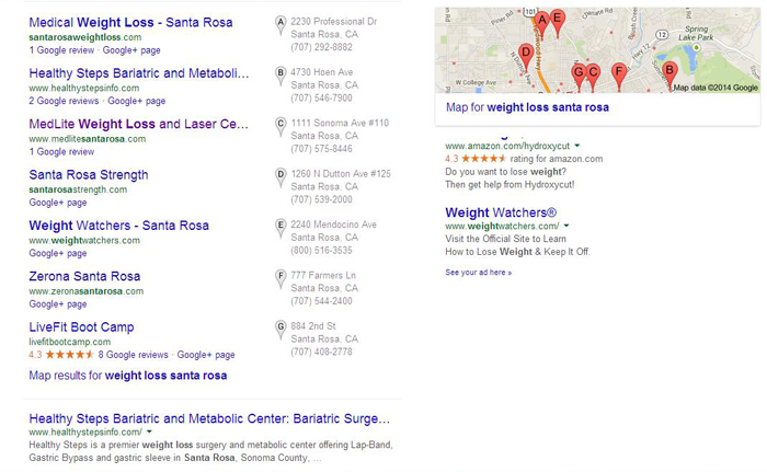 Google Places Listings
