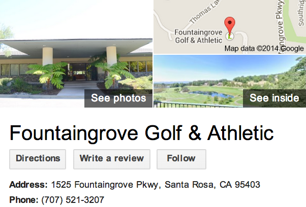 Google Business View for a Country Club.  Look Inside!
