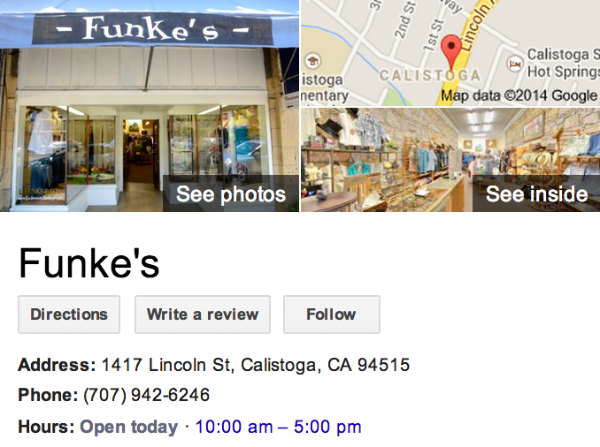 Google Business View for a Department Store.  Look Inside!