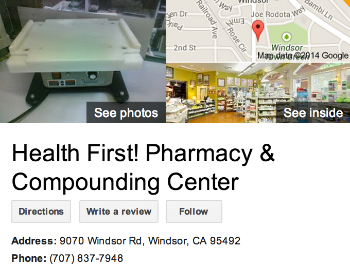 Google Business View for a Health Consultant.  Look Inside!