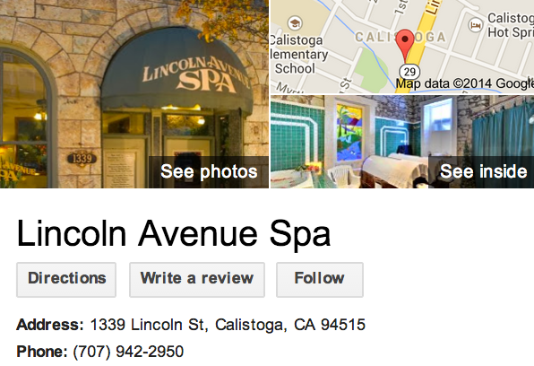 Lincoln Avenue Spa in Calistoga | Google 3D Tour Santa Rosa