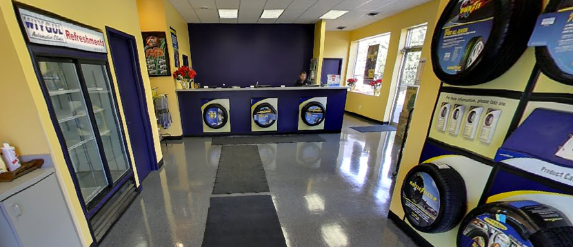 Google Business View Tire Store