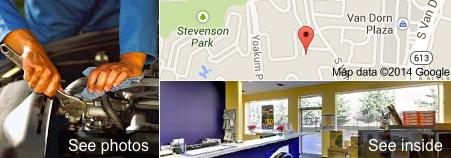 Google Business View Tire Shop