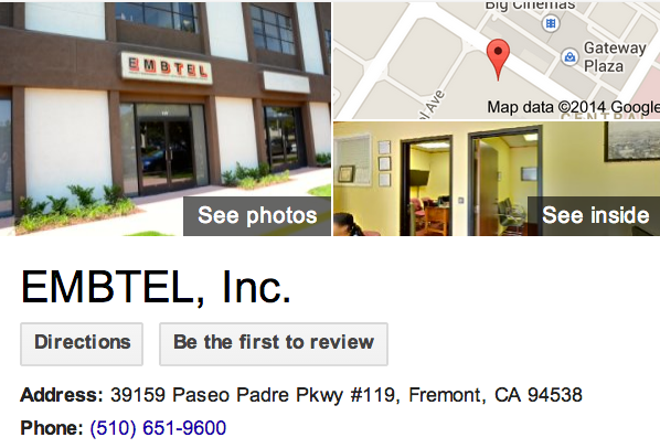 Google Business View for an Employment Agency.  Look Inside!