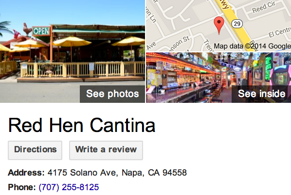 Google Business View for a Mexican Restaurant.  Look Inside!