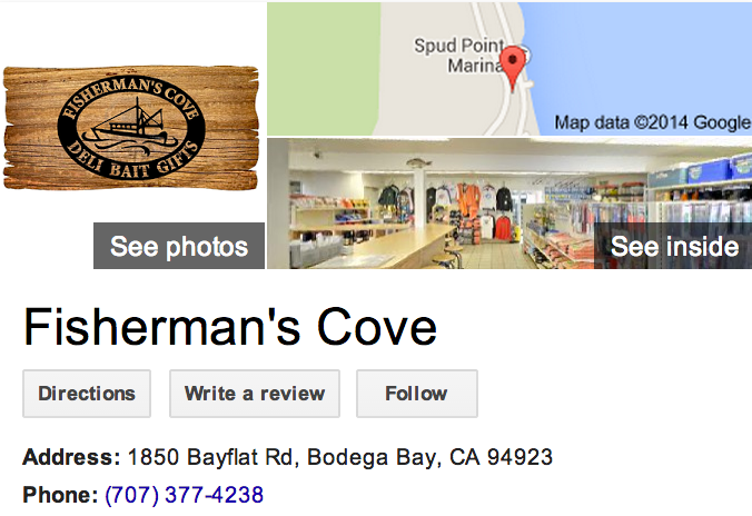 Google Business View for a Bait Shop.  Look Inside!