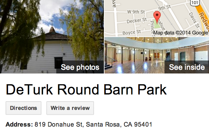 Google Business View for a Park.  Look Inside!