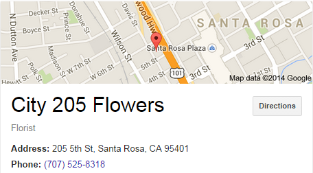 Google Business View for a Florist.  Look Inside!