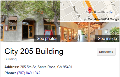 Google Business View for a Building.  Look Inside!