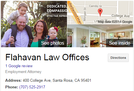 Google Business View for an Employment Attorney. Look Inside!