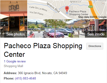 Google Business View for a Shopping Mall. Look Inside!