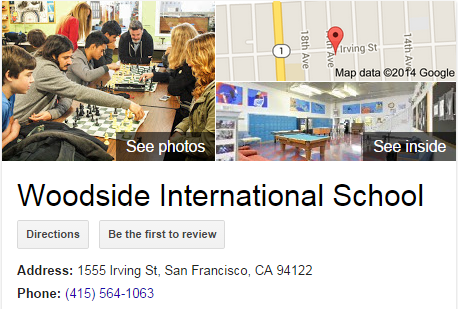 Google Business View for a High School.  Look Inside!