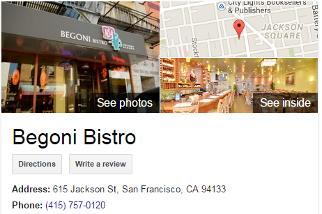 Google Business View for an Asian Restaurant. Look Inside!