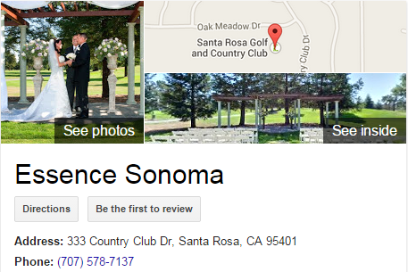 Google Business View for a Wedding Venue. Look Inside!