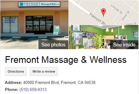 Google Business View for a Massage Therapist. Look Inside!