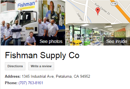 Google Business View for a Bathroom Supply Store. Look Inside!