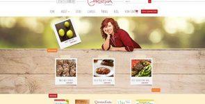 Sitio web de Christina Cooks