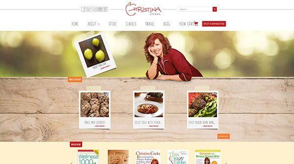 Christina Cooks Website