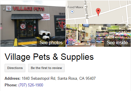 Google Business View for a Pet Supply Store. Look Inside!