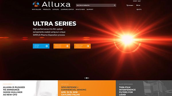 Alluxa Website