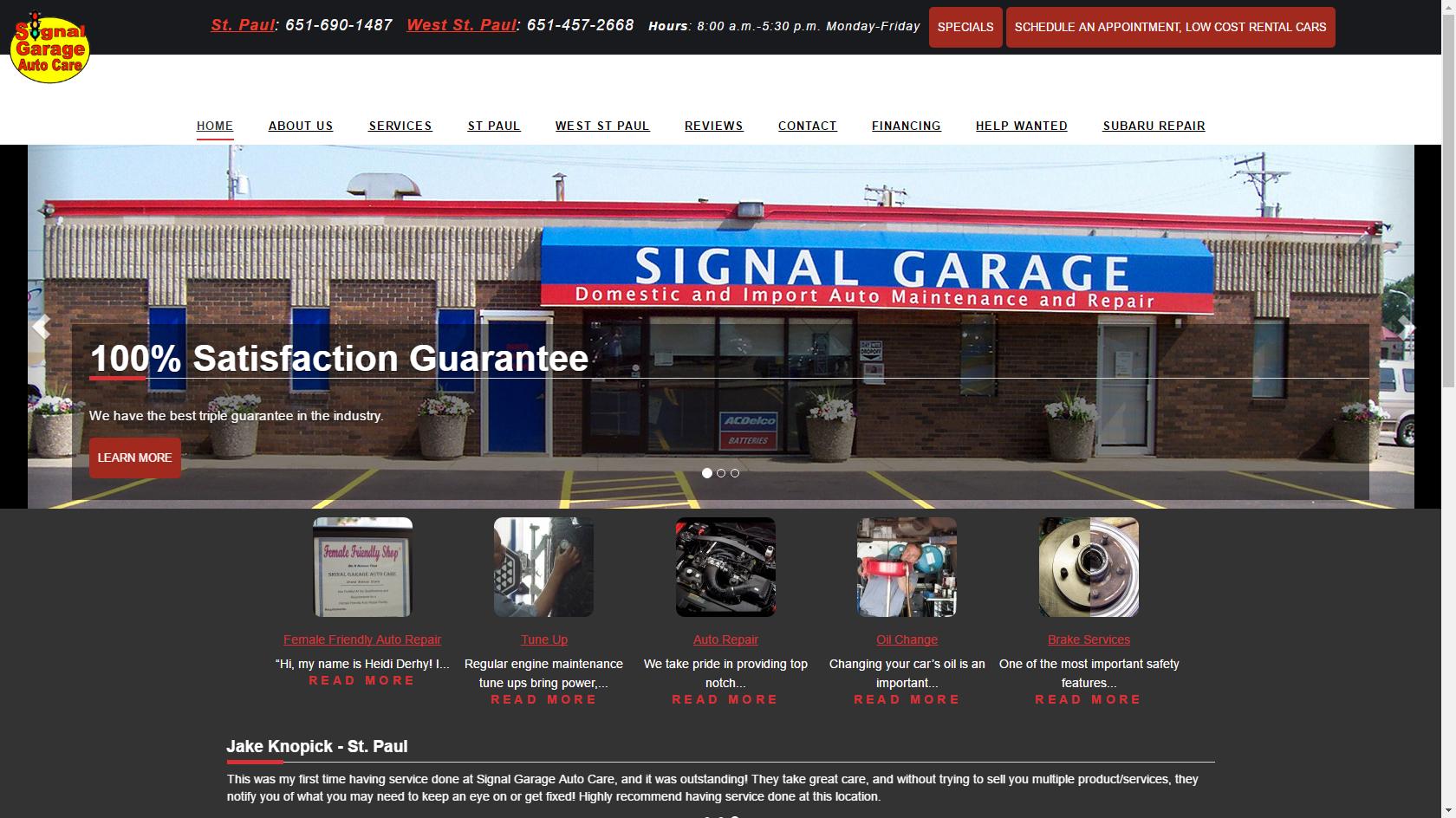 Signal Garage