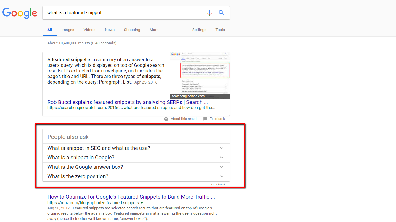 How to Rank for Featured Snippets: The SEM Rush Study